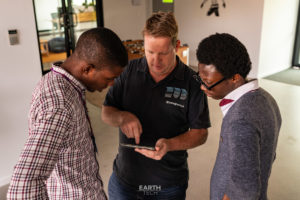 Earthech Finalists at the Peregian Digital Hub with Chris Bowden